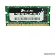 SODIMM, 4GB, DDR3, 1333MHz, CORSAIR, CL9 (CMSO4GX3M1A1333C9)