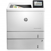 Imprimanta laser color HP Color LaserJet Enterprise M553X, A4, Retea, Duplex, Wi-Fi, NFC