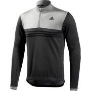 adidas Response LS Jersey Men black/mgh solid grey 2016 XS Trikots langarm