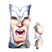Almofada e Mascara para Dormir Thor Quadrinhos Marvel