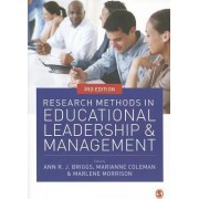 Research Methods in Educational Leadership and Management by Marlene Morrison