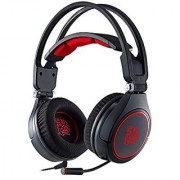 Tt eSPORTS CRONOS AD Comfortable Headband Full Retractable Microphone Bass Gaming Headset (HT-CRA-ANECBK-14)