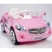 Kids Amg Style Girls Pink Ride On Rc Car Remote Control Electric Powered Wheels Mp3