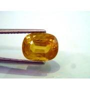 5.44 Ct Natural Premium Bangkok Yellow Sapphire/Pukhraj Heated