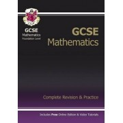 GCSE Maths Complete Revision & Practice with Online Edition - Foundation (A*-G Resits): Foundation by CGP Books