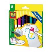 SES-Creative 00269 Colori magici per tessuti - 8 colori