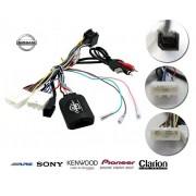 COMMANDE VOLANT Nissan QashQai 2014- - Pour Pioneer complet avec interface specifique
