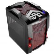 Boîtier PC Aerocool Strike-X Cube rouge uATX ATX 4