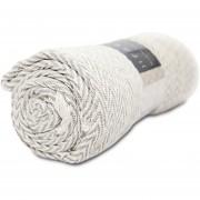 Manta 100% algodón DIB Valdivia - Crema