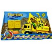 Plastelino - Excavatorul de plastilina