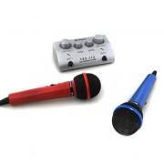 Skytec Mini, 2-csatornás karaoke keverőpult, szett (Sky-103.112)