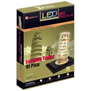 Qiyun 3 D Puzzle Led Series `leaning Tower Of Pisa Pisa`