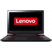"Laptop Gaming Lenovo IdeaPad Y700-15 (Procesor Intel® Quad-Core™ i7-6700HQ (6M Cache, up to 3.50 GHz), Skylake, 15.6""FHD, IPS, 8GB, 1TB + 256GB SSD, nVidia GeForce GTX 960M@4GB, Wireless AC, Tastatura iluminata, Negru) + DVD Writer Extern"