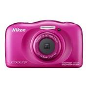 """Nikon COOLPIX W100 13.2MP 1/3.1"""" CMOS 4160 x 3120Pixeles Rosa Cámara digital (Batería, Cámara compacta, 1/3.1"""", Auto, TFT, Ión de litio)"""
