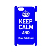 Keep Calm and iPhone 5 en 5S case