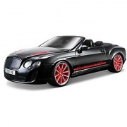 Bburago 1:18 Scale Bentley Continental Supersports Convertible ISR Diecast Vehicle (Colors May Vary)