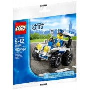 LEGO Police ATV (30228), 42 Piece Bag Set, Exclusive Promo Set by LEGO [Toy] (English Manual)