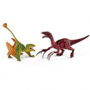 Schleich North America Dimorphodon & Therizinosaurus Toy Figure Small