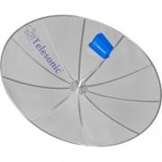 Antena Parabolica SLIM 1,70M para Laje Telesonic