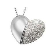 USB Šperky - Srdce 16GB