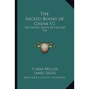 The Sacred Books of China V2 by F Max Muller
