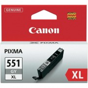 CANON CLI-551XLGY, Grey InkJet Cartridge (BS6447B001AA)