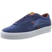 Lakai Vincent - Zapatillas de skateboarding de cuero para hombre azul Bleu (Navy Suede)