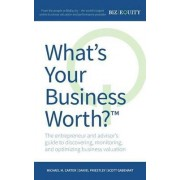 What's Your Business Worth? the Entrepreneur and Advisor's Guide to Discovering, Monitoring, and Optimizing Business Valuation by Michael M Carter