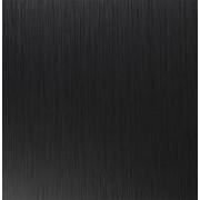 Vierkant tafelblad 'GRILLO' 70x70cm uit zwart hout