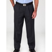 Perizzi Microfibre Trousers - Navy 92S