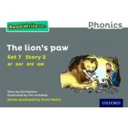 Read Write Inc. Phonics: Grey Set 7 Storybook 2 The Lion's Paw by Gill Munton