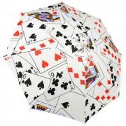 Atrezzo Magic Poker paraguas magico - Blanco + Negro + Multicolor