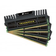 Vengeance Series 32 Go (4 x 8 Go) DDR3 1600 MHz CL9 - Kit Quad Channel DDR3 PC3-12800 - CMZ32GX3M4A1600C9 (garan