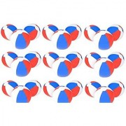 (24) 12'' PATRIOTIC Beach Balls ~ RED WHITE & BLUE Beach Ball Inflates ~ Patriotic Beachballs ~ Pool Decor Favor Water Outdoor Birthday Fourth July Wedding Celebration ~ 4TH Independence Day