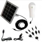 Carregador Solar Multifunção com Luminária Solar 1660 - EY7001