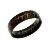 Gyűrűk ura gyűrű fekete