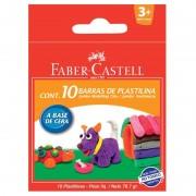 Plastilina 10 culori Faber-Castell