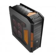 Boîtier PC XPredator Evil Black Edition noir / orange, détail 6x 5,25 externe, 1x 3,5 pouces externe, 6x interne de 3,5 pouces E-ATX, XL-ATX ATX 10