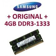 SAMSUNG - DDR3 da 4 GB, 204 pin, DDR3-1333 PC3-10600 CL9 SO-DIMM (M471B5273BH1-CH9) per DDR3 i5 + i7 Notebooks con supporto DDR3-1333 Mhz
