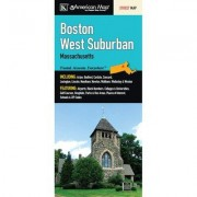 Universal Map Boston West Suburban Fold Map (Set of 2) 14137