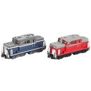 B Train Shorty Form Dd51 Diesel Locomotive A Update Car (Blue) B Update Car (Red) (2 Cars Entering Locomotive) (Japan Import)