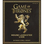 Game of Thrones Mask: House Lannister Lion by Steve Wintercroft