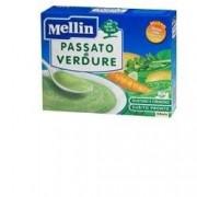 Mellin Passato di Verdure per Bambini, 8 Bustine 13 gr