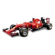 Maisto 581186 - Modellino di auto da Formula 1 Ferrari F14T (Alonso), scala 1:24, radiocomandato, batterie non incluse