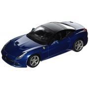 Bburago Ferrari California T (Closed Top) Blue 1:18 Diecast Model Car