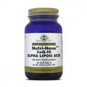 NUTRI-NANO COQ-10 ALPHA LIPOIC ACID 60 Softgels