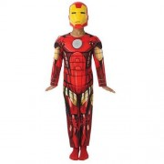 PARTY STREET Costume Iron Man Deluxe 3-4 Anni