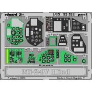 Eduard Photoetch 1:35 - Mi-24V Hind interior (Trumpeter) - EDP32521