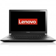 Laptop Lenovo B50-80 15.6 inch HD Intel Core i3-5005U 4GB DDR3 500GB+8GB SSHD FPR Black