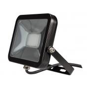 Design LED-Strahler - 20 W - Neutralweiß, schwarz